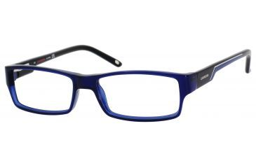 Carrera 6184 Eyeglass Frames CA6184-0U6B-5215 - Blue Black Frame, Lens Diameter 52mm, Distance Between Lenses 15mm