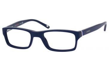 Carrera 6211 Eyeglass Frames CA6211-0OGO-4517 - Blue / Black White / Blue Frame, Lens Diameter 45mm, Distance Between Lenses 17mm
