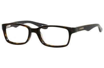 Carrera 6216 Eyeglass Frames CA6216-0086-4616 - Dark Havana Frame, Lens Diameter 46mm, Distance Between Lenses 16mm