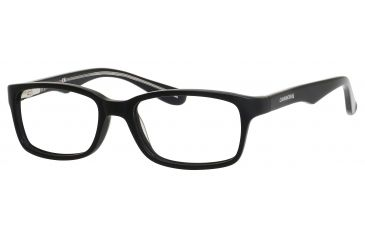 Carrera 6216 Eyeglass Frames CA6216-0KCX-4616 - Matte Black Frame, Lens Diameter 46mm, Distance Between Lenses 16mm