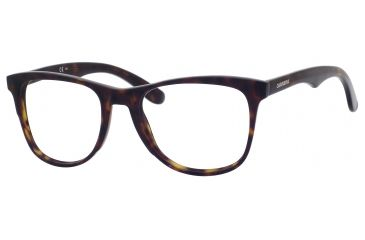 Carrera 6600 Bifocal Prescription Eyeglasses CA6600-0086-5320 - Dark Havana Frame, Lens Diameter 53mm, Distance Between Lenses 20mm