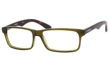Carrera 6605 Bifocal Prescription Eyeglasses CA6605-0BED-5415 - Copper Green / Havana Frame, Lens Diameter 54mm, Distance Between Lenses 15mm