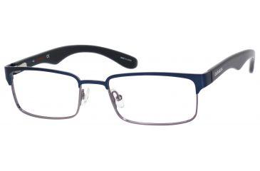 Carrera 6606 Single Vision Prescription Eyeglasses CA6606-0BDW-5318 - Blue / Dark Ruthenium Frame, Lens Diameter 53mm, Distance Between Lenses 18mm