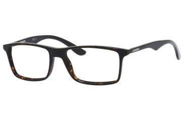 Carrera 6611 Bifocal Prescription Eyeglasses CA6611-04NC-5316 - Havana / Black Frame, Lens Diameter 53mm, Distance Between Lenses 16mm