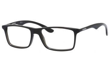 Carrera 6611 Bifocal Prescription Eyeglasses CA6611-0R6S-5517 - Dark Gray / Black Frame, Lens Diameter 55mm, Distance Between Lenses 17mm