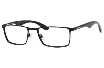 Carrera 6614 Bifocal Prescription Eyeglasses CA6614-010G-5219 - Matte Black Frame, Lens Diameter 52mm, Distance Between Lenses 19mm