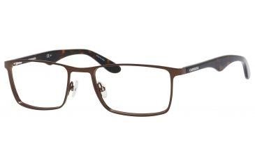 Carrera 6614 Bifocal Prescription Eyeglasses CA6614-0DGC-5219 - Brown Havana Frame, Lens Diameter 52mm, Distance Between Lenses 19mm