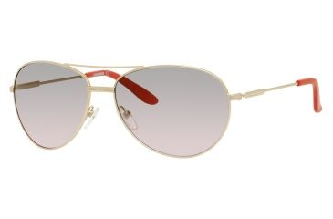 Carrera 69/S Sunglasses CA69S-0AOZ-UZ-6015 - Semi Matte Gold Frame, Red Mirror Lenses, Lens Diameter 60mm, Distance Between Lenses 15mm