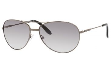 Carrera 69/S Sunglasses CA69S-0KJ1-IC-6015 - Dark Ruthenium Frame, Gray Mirror Gradient Silver Lenses, Lens Diameter 60mm, Distance Between Lenses 15mm