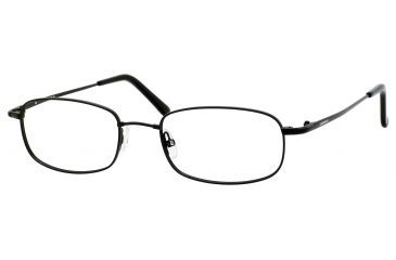 Carrera 7370/N Single Vision Prescription Eyeglasses CA7370N-0TZ7-5219 - Black Frame, Lens Diameter 52mm, Distance Between Lenses 19mm