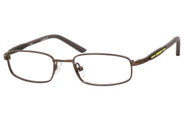 Carrera 7516 Eyeglass Frames CA7516-01E8-4716 - Brown Semi Shiny Frame, Lens Diameter 47mm, Distance Between Lenses 16mm
