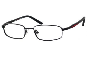 Carrera 7516 Eyeglass Frames CA7516-091T-4516 - Black Frame, Lens Diameter 45mm, Distance Between Lenses 16mm