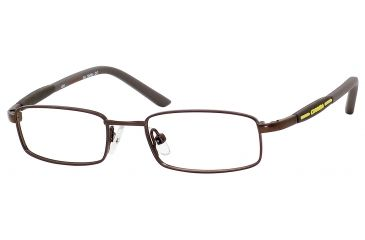 Carrera 7517 Eyeglass Frames CA7517-01E8-4416 - Brown Semi Shiny Frame, Lens Diameter 44mm, Distance Between Lenses 16mm