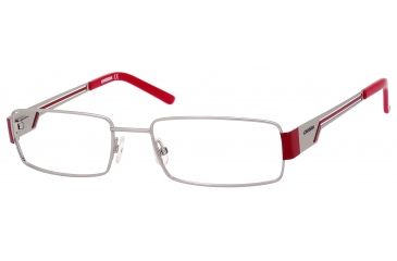 Carrera 7528 Single Vision Prescription Eyeglasses CA7528-0ZU2-5218 - Palladium Frame, Lens Diameter 52mm, Distance Between Lenses 18mm