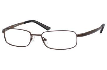 Carrera 7536 Bifocal Prescription Eyeglasses CA7536-01E8-5217 - Brown Semi Shiny Frame, Lens Diameter 52mm, Distance Between Lenses 17mm