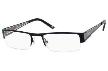 Carrera 7548 Single Vision Prescription Eyeglasses CA7548-0RZZ-5320 - Matte Black / Dark Ruthenium Frame, Lens Diameter 53mm, Distance Between Lenses 20mm