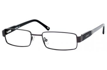 Carrera 7550 Single Vision Prescription Eyeglasses CA7550-0GOB-5118 - Dark Ruthenium / Black Gray Frame, Lens Diameter 51mm, Distance Between Lenses 18mm