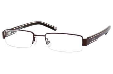 Carrera 7561 Progressive Prescription Eyeglasses CA7561-01P5-5219 - Brown Frame, Lens Diameter 52mm, Distance Between Lenses 19mm