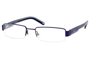 Carrera 7561 Progressive Prescription Eyeglasses CA7561-01P6-5419 - Navy Frame, Lens Diameter 54mm, Distance Between Lenses 19mm