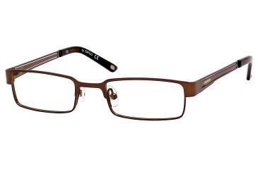 Carrera 7563 Progressive Prescription Eyeglasses CA7563-01J0-4417 - Brown Frame, Lens Diameter 44mm, Distance Between Lenses 17mm