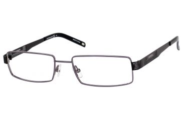 Carrera 7568 Single Vision Prescription Eyeglasses CA7568-0AGL-5217 - Gunmetal Black Frame, Lens Diameter 52mm, Distance Between Lenses 17mm