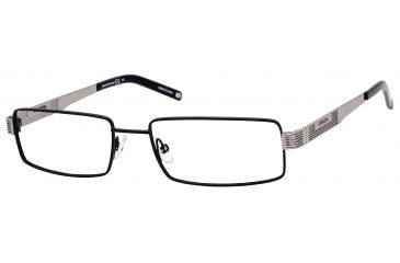 Carrera 7568 Single Vision Prescription Eyeglasses CA7568-0ECE-5217 - Matte Black Ruthenium Frame, Lens Diameter 52mm, Distance Between Lenses 17mm