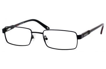 Carrera 7572 Eyeglass Frames CA7572-0003-5219 - Semi Matte Black Frame, Lens Diameter 52mm, Distance Between Lenses 19mm