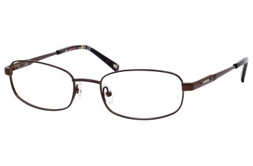 Carrera 7573 Eyeglass Frames CA7573-01P5-5219 - Brown Frame, Lens Diameter 52mm, Distance Between Lenses 19mm