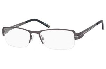 Carrera 7581 Bifocal Prescription Eyeglasses CA7581-0R80-5417 - Semi Matte Ruthenium Frame, Lens Diameter 54mm, Distance Between Lenses 17mm