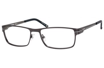 Carrera 7582 Progressive Prescription Eyeglasses CA7582-0R80-5417 - Semi Matte Ruthenium Frame, Lens Diameter 54mm, Distance Between Lenses 17mm