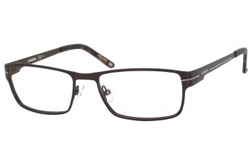 Carrera 7582 Progressive Prescription Eyeglasses CA7582-0TRF-5417 - Semi Matte Brown Frame, Lens Diameter 54mm, Distance Between Lenses 17mm