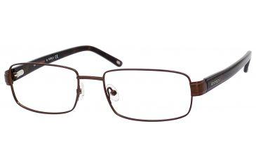 Carrera 7586 Eyeglass Frames CA7586-01P5-5418 - Matte Brown Frame, Lens Diameter 54mm, Distance Between Lenses 18mm