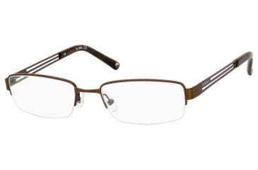 Carrera 7596 Progressive Prescription Eyeglasses CA7596-05BZ-5218 - Brown Frame, Lens Diameter 52mm, Distance Between Lenses 18mm
