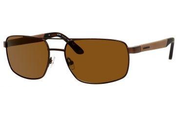 Carrera 8006/S Bifocal Prescription Sunglasses CA8006S-1F1P-VW-5917 - Lens Diameter 59 mm, Frame Color Brown