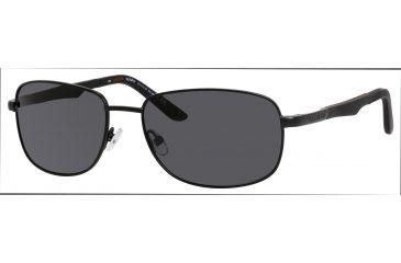 Carrera 8007/S Single Vision Prescription Sunglasses CA8007S-003P-Y2-5817 - Frame Color Black, Lens Diameter 58 mm