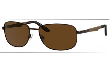 Carrera 8007/S Single Vision Prescription Sunglasses CA8007S-1F1P-VW-5817 - Frame Color Brown, Lens Diameter 58 mm