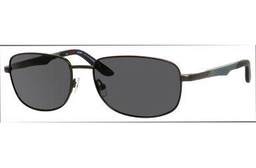 Carrera 8007/S Single Vision Prescription Sunglasses CA8007S-1G0P-Y2-5817 - Frame Color Gunmetal, Lens Diameter 58 mm