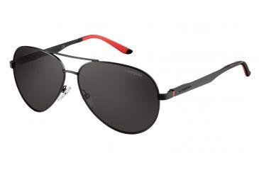 53757482fd9f Carrera 8010/S Sunglasses CA8010S-0003-M9-5912 - Matte Black Frame