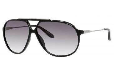 Carrera 82/S Single Vision Prescription Sunglasses CA82S-0CVS-9C-6411 - Frame Color Shiny Black, Lens Diameter 64 mm