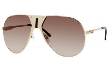 Carrera 86/S Bifocal Prescription Sunglasses CA86S-083O-JD-6315 - Frame Color Gold, Lens Diameter 63 mm