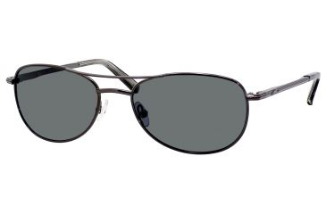 Carrera 928/S Sunglasses CA928S-7SJP-RA-5517 - Shiny Gunmetal Frame, Gray Polarized Lenses, Lens Diameter 55mm, Distance Between Lenses 17mm