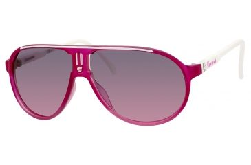 Carrera Champion/SML/ST Bifocal Prescription Sunglasses CHAMPSMLST-084Q-FF-5711 - Lens Diameter 57 mm, Frame Color Fuchsia Cia Shaded