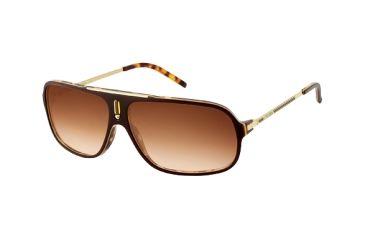 Carrera Cool Sunglasses - Brown Havana / Gold Frame, Brown Gradient Lenses COOLS0CSVID