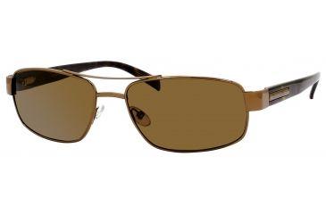 Carrera Game Plan/S Single Vision Prescription Sunglasses GAMEPS-6ZMP-VW-5817 - Frame Color Shiny Bronze, Lens Diameter 58 mm
