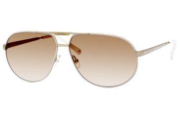 Carrera Master 2/S Sunglasses MASTE2S-0VFQ-ID-6112 - Gold White Frame, Brown Gradient Lenses, Lens Diameter 61mm, Distance Between Lenses 12mm