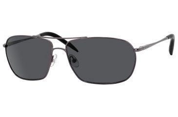 Carrera Overdrive/S Progressive Prescription Sunglasses OVERDS-7SJP-RA-6014 - Frame Color Shiny Gunmetal, Lens Diameter 60 mm