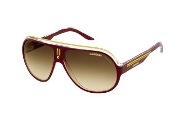 Carrera Speedway Progressive Rx Sunglasses - Brown Crystal Yellow Frame SPEEDS0KDT1W