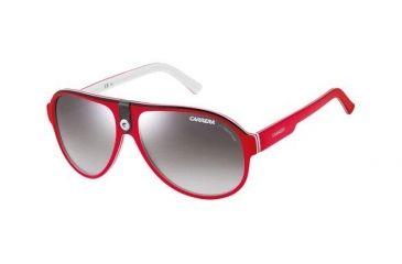 Carrera 32S Sunglasses - Red White Frame, Gray Mirror Lenses CA32S06CFIC