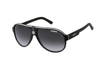 Carrera 32S Sunglasses - Black Crystal Gray Frame, Dark Gray Gradient Lenses CA32S08V69O