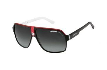 Carrera 33 Rx Sunglasses - Black Crystal White Frame, Progressive Lenses CA33S08V4PT